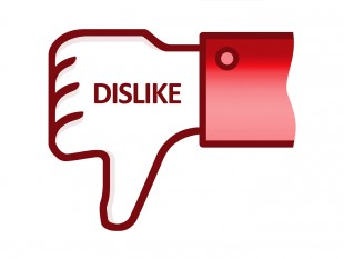 Image Gallery Dislike Sign
